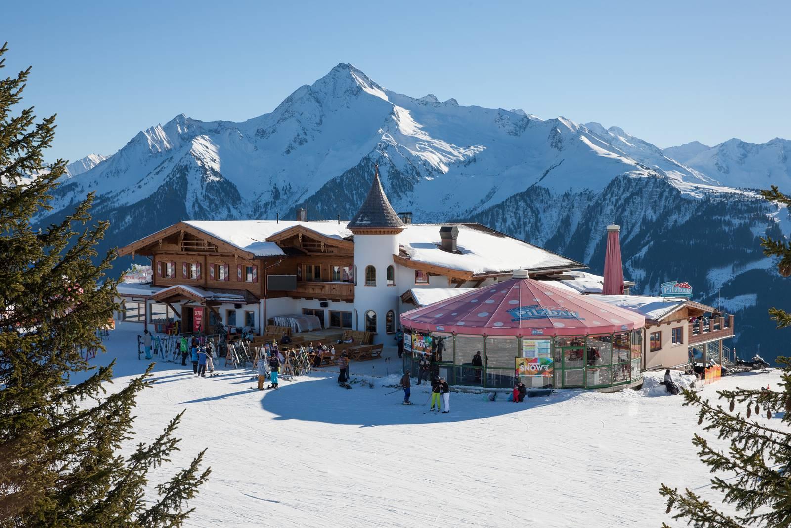Restaurant Mayrhofen Skih 252 Tte Pilzbar Am Penken Im